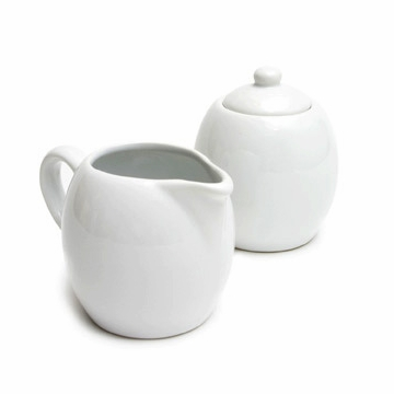 Porcelain Milk and Sugar Set
