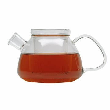Contemporary Filtering Glass Teapot