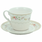Royal Opera Plastic Teacup with Saucer