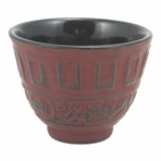 Red Classical Tetsubin Teacup