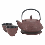 Red Shogun Tetsubin Tea Set