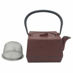 Red Square Tetsubin Teapot