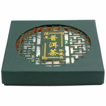 Green Tea Pu-erh Pie
