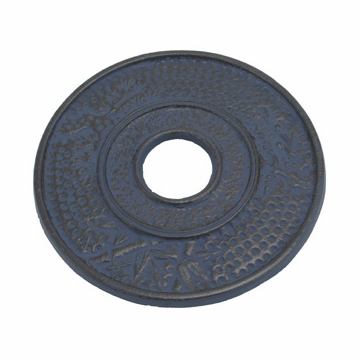 Blue Bamboo Cast Iron Trivet