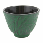 Green Bamboo Cast Iron Teacup