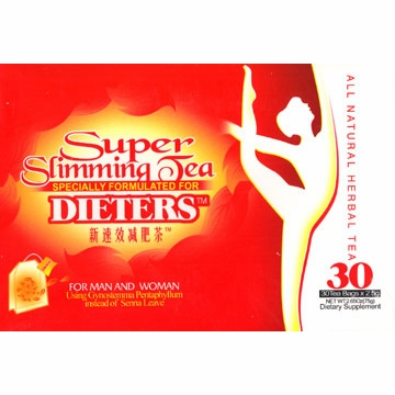 Super Slimming Dieters' Herbal Tea Bag