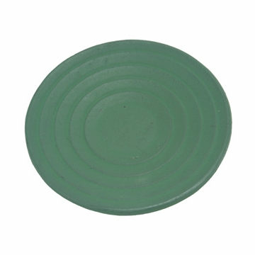 Green Cast Iron Saucer