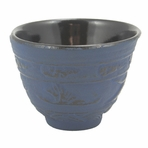 Blue Crane Iron Cast Teacup