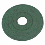 Green Crane Iron Cast Trivet