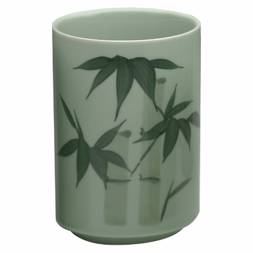 Green Bamboo Cup