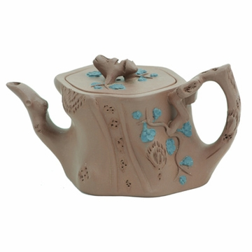 Tree Trunk Yixing Clay Teapot