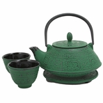 Green Shogun Tetsubin Tea Set