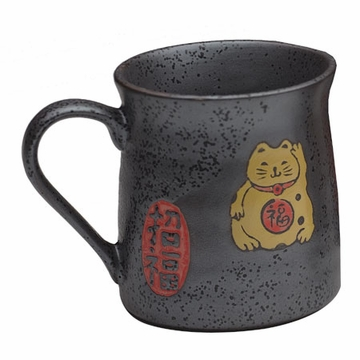 Japanese Lucky Fortune Cat Mug (Maneki-neko)