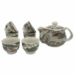 Ancient Town Tea Set