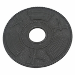 Black Dragonfly Cast Iron Trivet