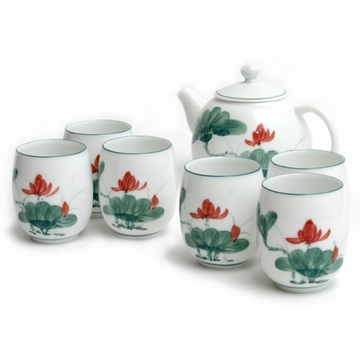 Lotus Tea Set