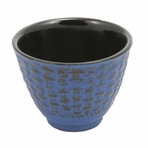 Blue Traditional Cast Iron Teacup
