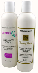 Derma Q-Gel Hand & Body Lotion with DermaPlenish Label Half Price Sale