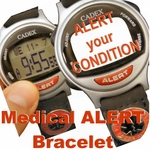 Medical Bracelet / Emergency Bracelet / Alert Wrist Bracelet