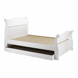 Dixie Full Size Sleigh Bed with Trundle - Nexera Furniture
