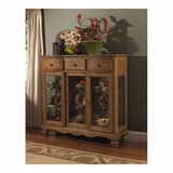 Weathered Pine Hamptons Server - Hillsdale