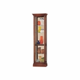 Gregory Curio Cabinet in Windsor Cherry - Howard Miller