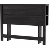 South Shore Flynn Gray Oak Full Storage Headboard - 3237267
