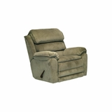 Vista Chaise Rocker Recliner in Sage - Catnapper