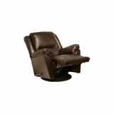 Maverick Chaise Swivel Glider Recliner in Java - Catnapper