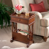 Pedestal Martini Table in Plantation Cherry - Butler Furniture - BT-0999024