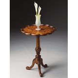 Pedestal Table in Olive Ash Burl - Butler Furniture - BT-1482101
