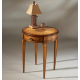 Side Table in Olive Ash Burl - Butler Furniture - BT-0341101