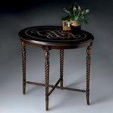 Oval Accent Table with Fossil Stone Top - Butler Furniture - BT-2339070