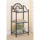 Accent Table / Telephone Stand in Black - Coaster - 2429