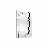 Construct Clear Wall Mirror - Zuo
