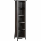 Elegance Open Decorative Bookcase with 3 Adjustable Shelves - Nexera Furniture