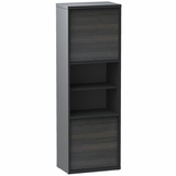 Sereni-T 2 Door Bookcase with 6 Shelves - Nexera Furniture