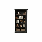 Oxford Antique Black Bookcase by Ty Pennington - Howard Miller