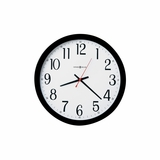 Gallery Wall Clock in Black - Howard Miller