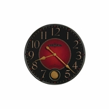 Harmon Wrought Iron Quartz Wall Clock - Howard Miller