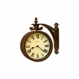 O`Brien Double Sided Swivel Metal Wall Clock - Howard Miller