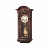 Jennison Mahogany Wall Clock - Howard Miller