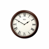 Jamison Wall Clock in Bellaire Cherry - Ridgeway Grandfather Clocks