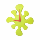 Mini Splat Clock Green - Lumisource