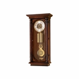 Stevenson Key Wound Wall Clock - Howard Miller