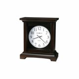Urban Mantel II Clock in Black Coffee - Howard Miller