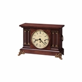 Circa Key Wound Chiming Mantel Clock - Howard Miller