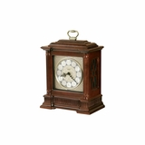 Akron Chiming Mantel Clock in Windsor Cherry - Howard Miller
