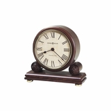 Redford Chiming Mantel Clock in Windsor Cherry - Howard Miller