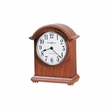 Myra Chiming Mantel Clock in Oak Yorkshire - Howard Miller